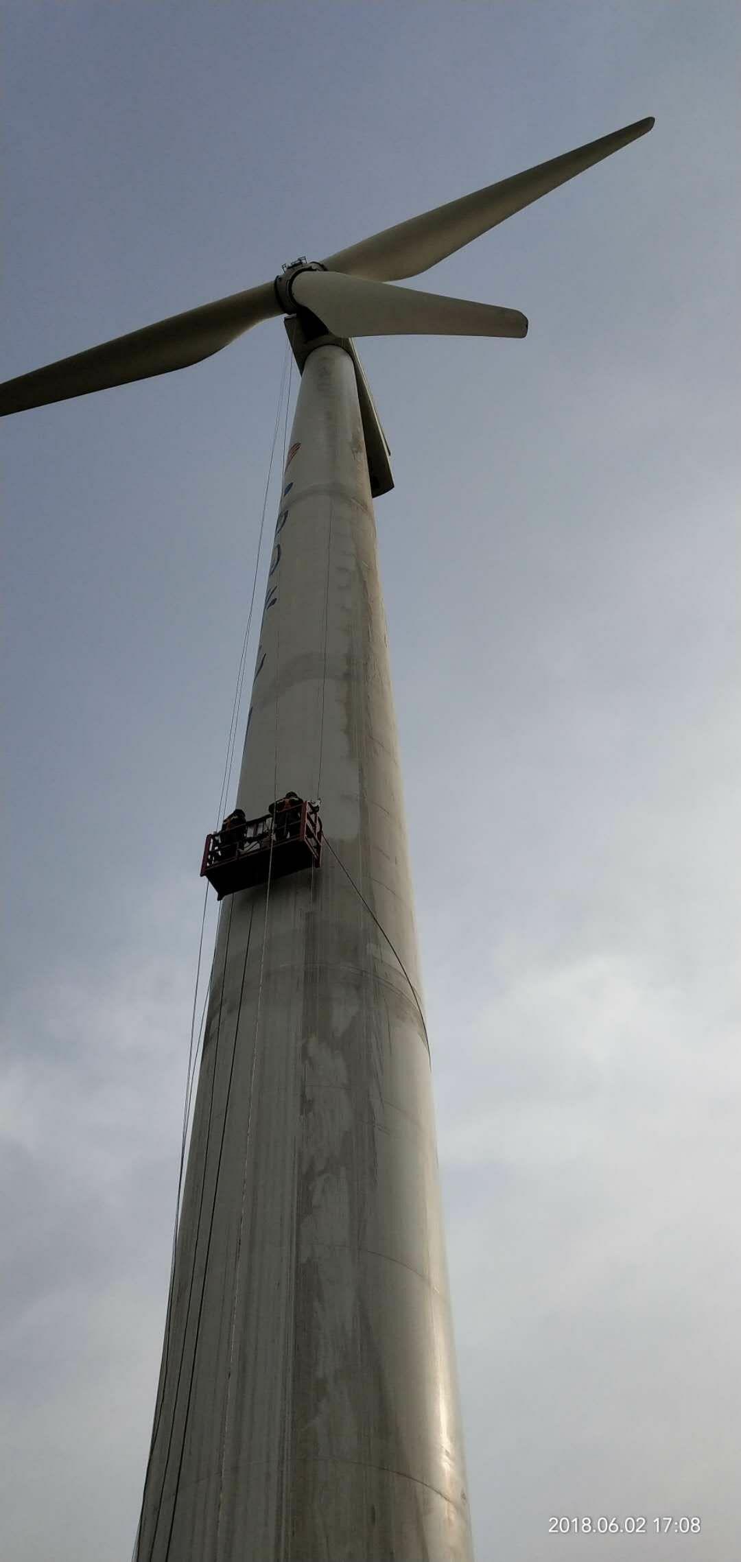 风力发电专用吊篮